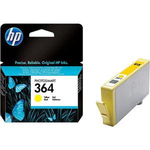 Original Yellow Ink Cartridge HP 364Y (CB320EE) - Ecomelani