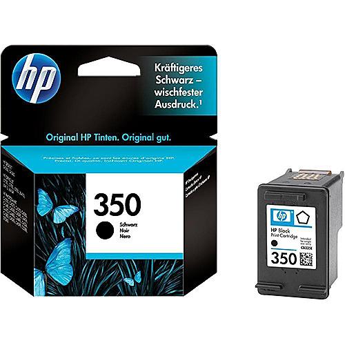 Original Black Ink Cartridge HP 350 (CB335EE) - Ecomelani