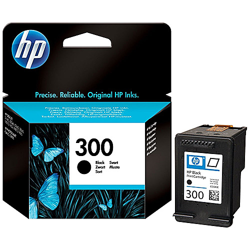 Original Black Ink Cartridge HP 300 (CC640EE) - Ecomelani