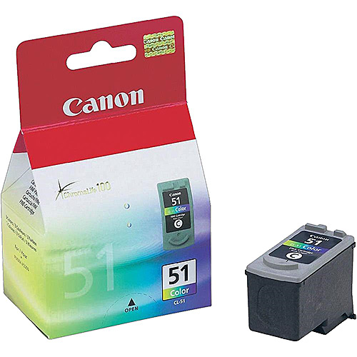 Original Tricolour Ink Cartridge Canon CL-51 - Ecomelani