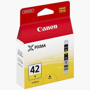 Original Yellow Ink Cartridge Canon CLI-42 - Ecomelani