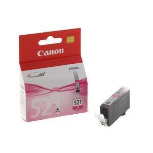 Original Magenta Ink Cartridge Canon CLI-521M (2935B001AA) - Ecomelani