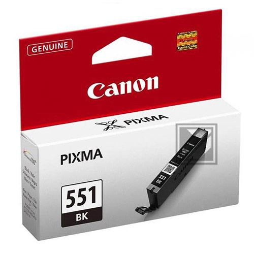 Original Black Ink Cartridge Canon CLI-551 (CLI-551BK) - Ecomelani