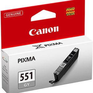 Original Grey Ink Cartridge Canon CLI-551 (CLI-551GY) - Ecomelani