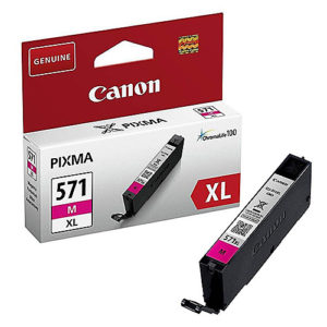 Original Magenta Ink Cartridge Canon CLI-571XL (0333C001) - Ecomelani