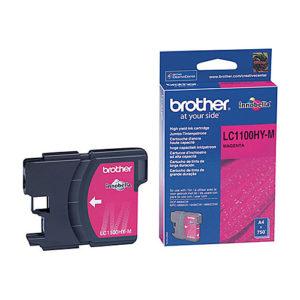Original Magenta Ink Cartridge Brother LC1100HYM - Ecomelani