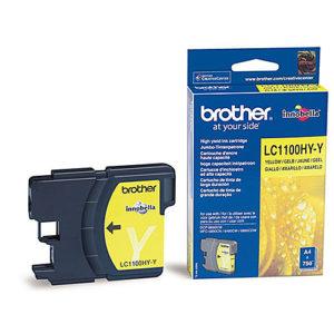 Original Yellow Ink Cartridge Brother LC1100HYY - Ecomelani