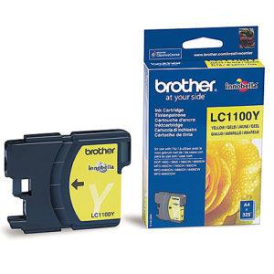Original Yellow Ink Cartridge Brother LC1100Y - Ecomelani