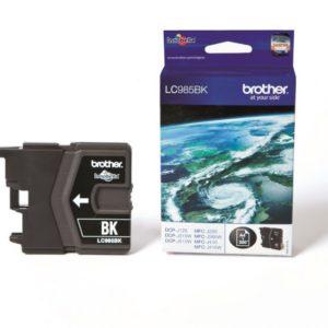 Original Black Ink Cartridge Brother LC985BK - Ecomelani