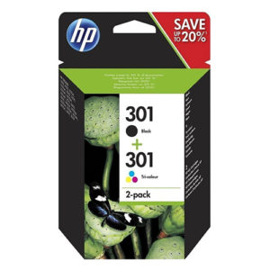 Original Ink Cartridge HP F4280 Combo 300 B+300C (N9J72AE) - Ecomelani