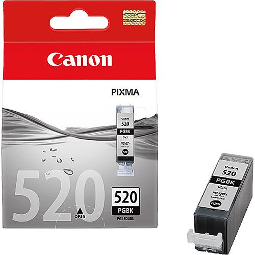 Original Black Ink Cartridge Canon PGI-520BK (2932B001AA) - Ecomelani