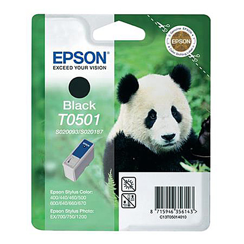 Original Black Ink Cartridge Epson T050 - Ecomelani