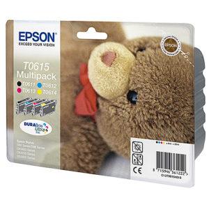 Original Multipack Ink Cartridge Epson T0615 - Ecomelani