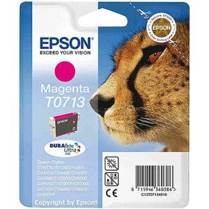 Original Magenta Ink Cartridge Epson T0713 - Ecomelani