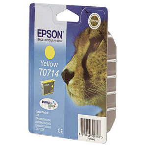 Original Yellow Ink Cartridge Epson T0714 - Ecomelani