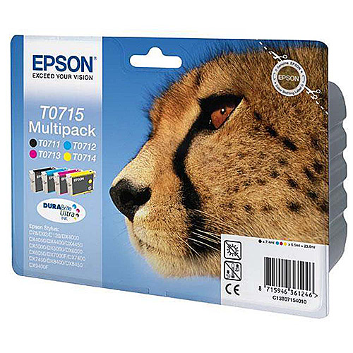 Original Multipack Ink Cartridge Epson T0715 - Ecomelani