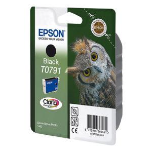 Original Black Ink Cartridge Epson T0791 - Ecomelani