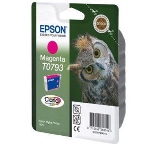 Original Magenta Ink Cartridge Epson T0793 - Ecomelani