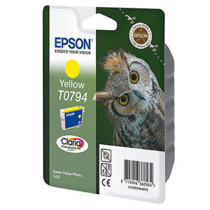 Original Yellow Ink Cartridge Epson T0794 - Ecomelani