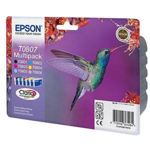 Original Multipack Ink Cartridge Epson T0807 - Ecomelani