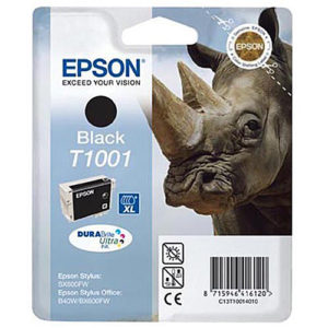 Original Black Ink Cartridge Epson T1001 - Ecomelani