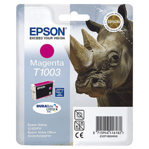 Original Magenta Ink Cartridge Epson T1003 - Ecomelani