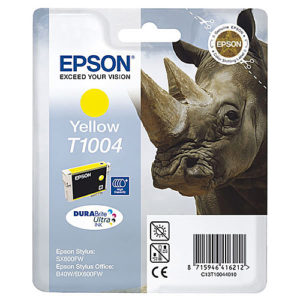 Original Yellow Ink Cartridge Epson T1004 - Ecomelani