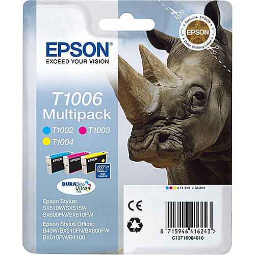 Original Multipack Ink Cartridge Epson T1006 - Ecomelani