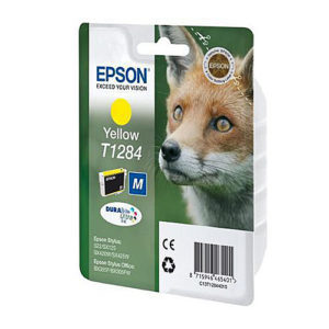 Original Yellow Ink Cartridge Epson T1284 - Ecomelani