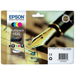 Original Multipack Ink Cartridge Epson T1636 16XL - Ecomelani