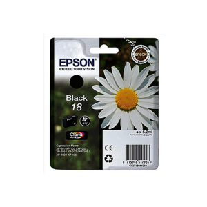 Original Black Ink Cartridge Epson T1801 - Ecomelani