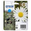 Original Cyan Ink Cartridge Epson T1802 - Ecomelani