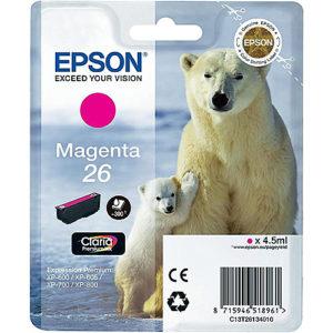 Original Magenta Ink Cartridge Epson T2613 - Ecomelani