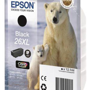 Original Black Ink Cartridge Epson T2621 - Ecomelani