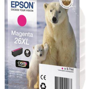 Original Magenta Ink Cartridge Epson T2633 - Ecomelani