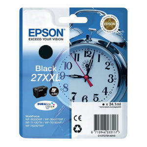 Original Black Ink Cartridge Epson T2791 - Ecomelani