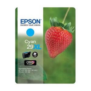 Original Cyan Ink Cartridge Epson 29XL (T2992) - Ecomelani