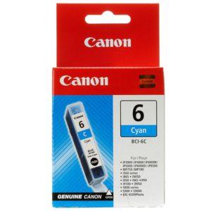 Original Cyan Ink Cartridge Canon BCI-6C (BCI-6C) - Ecomelani