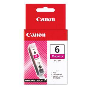 Original Magenta Ink Cartridge Canon BCI-6M (BCI-6M) - Ecomelani
