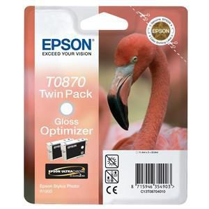 Original Gloss Optimiser Ink Cartridge Epson T0870 - Ecomelani
