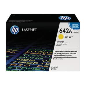 Original Yellow HP CB402A Toner Cartridge 642A - Ecomelani