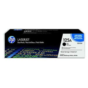 Original Black HP CB540AD Toner Cartridge 125A Twin Pack - Ecomelani
