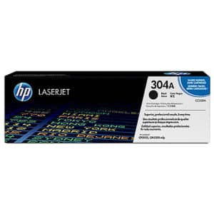Original Black HP CC530A Toner Cartridge 304A - Ecomelani