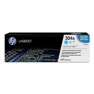Original Cyan HP CC531A Toner Cartridge 304A - Ecomelani
