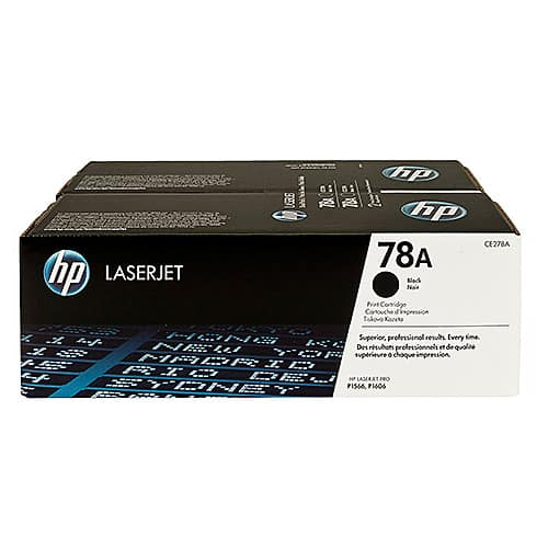 Original Black HP CE278AD Toner Cartridge 78A - Ecomelani