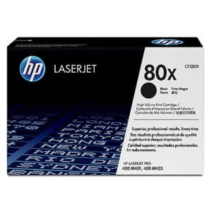 Original Black HP CF280X Toner Cartridge 80X - Ecomelani