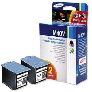 Original Black Ink Cartridge Samsung M40 Twin Pack - Ecomelani