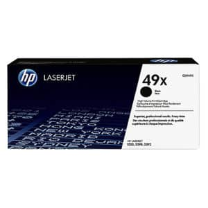Original Black HP Q5949X Toner Cartridge 49X - Ecomelani