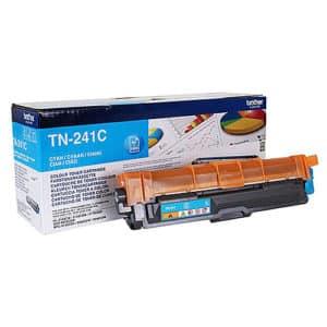 Original Cyan Brother TN241 Toner Cartridge (TN-241C) - Ecomelani