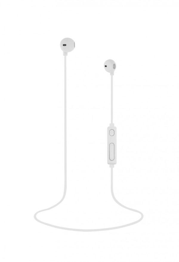 TNB White Bluetooth Sweet Earphones + Microphone - Ecomelani